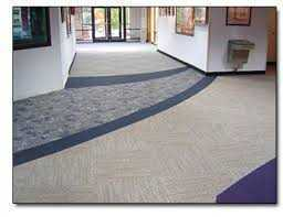 commercial carpets in office building