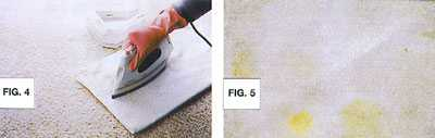Stain Removal Example - Figure 4 and 5