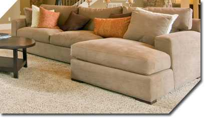 Beautifully cleaned upholstered lounge